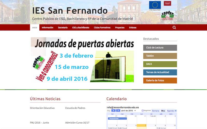 instituto de educación secundaria IES San Fernando Madrid