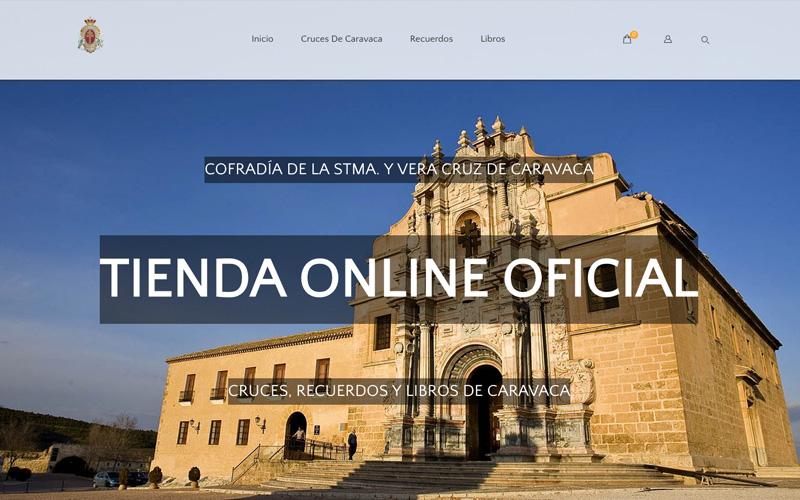 tienda online y web corporativa de la stma y vera cruz de caravaca