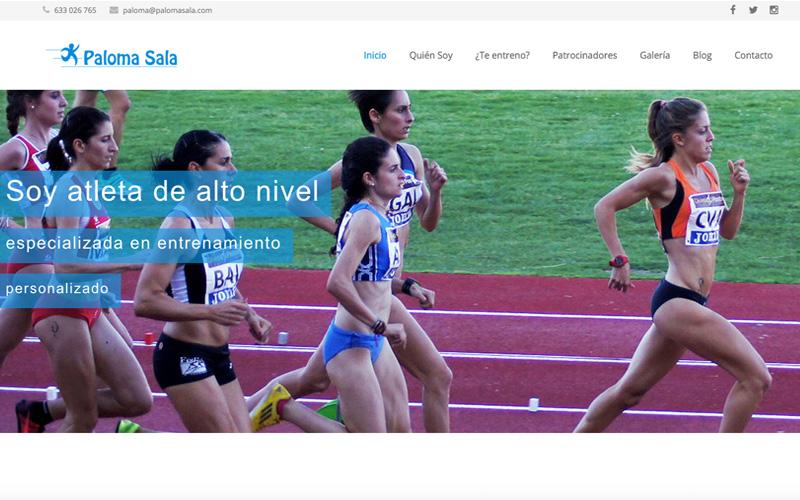 web atleta paloma sala